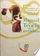 libro Manual De Teoría De La Literatura