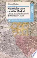 libro Materiales Para Escribir Madrid
