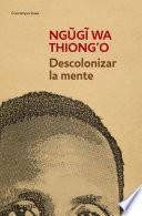 Descolonizar La Mente