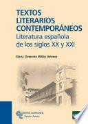 Textos Literarios Contemporáneos