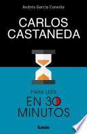 libro Carlos Castaneda Para Leer En 30 Minutos