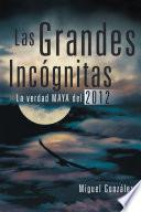 libro Las Grandes Incógnitas