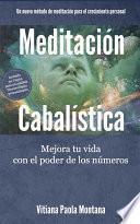 libro Meditación Cabalística