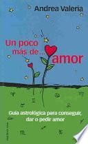 libro Un Poco Mas De Amor