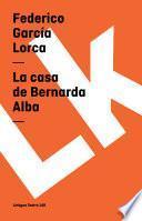 libro Casa De Bernarda Alba