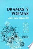 libro Dramas Y Poemas Para Dias Especiales