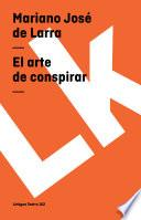 libro El Arte De Conspirar
