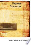 libro Flaquezas Ministeriales