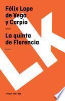 libro La Quinta De Florencia