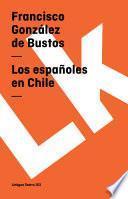 libro Los Españoles En Chile
