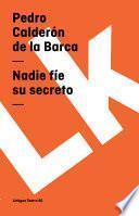 libro Nadie Fíe Su Secreto