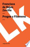 libro Progne Y Filomena
