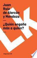 libro ¿quién Engaña Más A Quién?