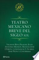 libro Teatro Mexicano Breve Del Siglo Xix