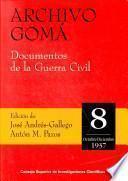 Archivo Gomá: Octubre Diciembre De 1937