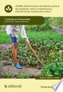 Determinación Del Estado Sanitario De Las Plantas, Suelo E Instalaciones Y Elección De Los Métodos De Control. Agac0108