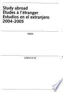 Estudios En El Extranjero, 2004 2005