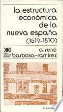 La Estructura Económica De La Nueva España, 1519 1810