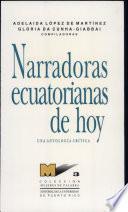 Narradoras Ecucatorianas De Hoy