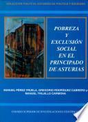 Pobreza Y Exclusión Social En El Principado De Asturias