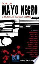 libro Actas De Mayo Negro