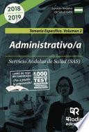 libro Administrativo/a Del Sas. Temario Específico. Volumen 2