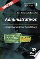 libro Administrativos Del Sas. Test Del Temario Específico