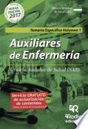 Auxiliares De Enfermería. Servicio Andaluz De Salud (sas). Temario Específico Volumen 1