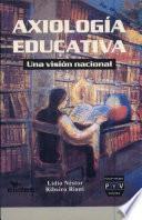 libro Axiología Educativa