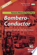 libro Bombero Conductor Del Ayuntamiento De Dos Hermanas. Temario Materias Específicas