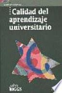 libro Calidad Del Aprendizaje Universitario