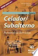 Celador/subalterno. Personal De Servicios. Temario