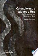 libro Coloquio Entre Monos Y Una/colloque Entre Monos Et Una