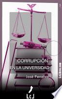 libro Corrupción En La Universidad