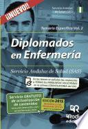 libro Diplomados En Enfermería Del Sas. Temario Específico. Volumen 2