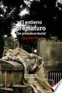 libro El Entierro Prematuro/the Premature Burial