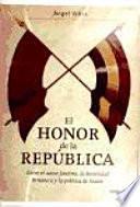 libro El Honor De La República