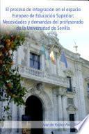 libro El Proceso De Integración En El Espacio Europeo De Educación Superior