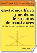 libro Electrónica Física Y Modelos De Circuitos De Transistores