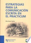 libro Estrategias Para La Comunicación Escrita En El Practicum