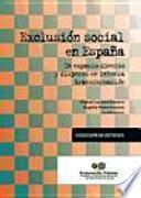 libro Exclusión Social En España