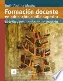 libro Formación Docente En Eduación Media Superior