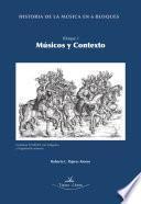 libro Historia De La Música En 6 Bloques. Bloque 1