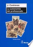 libro La Autonomía Del Profesorado