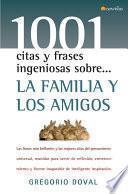 libro La Familia Y Los Amigos