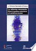 libro La Reforma Necesaria