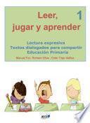 libro Leer, Jugar Y Aprender