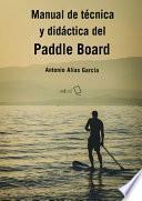 libro Manual De Técnica Y Didáctica Del Paddle Board