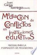 libro Mediación De Conflictos En Instituciones Educativas
