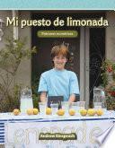 libro Mi Puesto De Limonada (my Lemonade Stand) (nivel 3 (level 3))